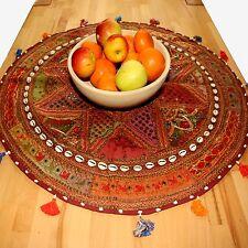 Wandteppich Tischdecke Wandbehang  Beduinen Tischläufer Teppich rund  23