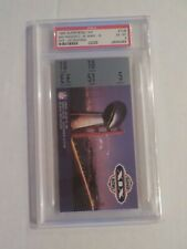 1985 SUPER BOWL XIX 49ERS VS DOLPHINS Graded Ticket Stub PSA 6 JOE MONTANA