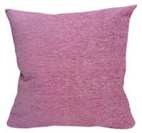 Wb08Ba Plain Mauve Chenille Cotton Throw Cushion Cover/Pillow Case*Custom Size*