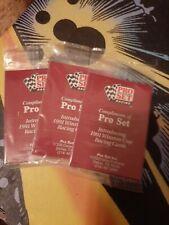 (3) 1991 Pro Set Winston Cup Promo Packs