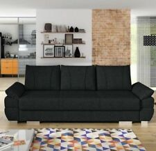 Up to 4 Solid Four Seater Sofa Beds