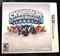 *New 3DS Spyros Adventure Complete Game Skylanders Nintendo Activision no portal