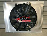 Aluminum Radiator Shroud + Fan for HOLDEN COMMODORE VB VC VH VK 308&253 V8 79-86