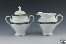 Waterford China Creamer and Sugar Bowl Longfield Pattern