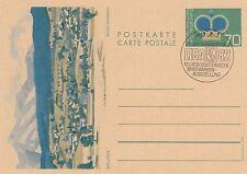 Liechtenstein, Ganzsache zur LIBA 82, gestempelt, MiNr. P 81 x, ansehen