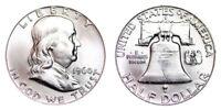 1960-D Franklin Half Dollar Brilliant Uncirculated - BU