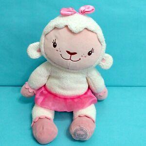 "Disney Authentic Original Doc McStuffins Lambie Plush Stuffed Animal Toy 15"""