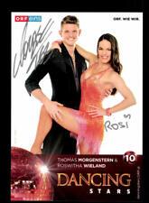 Thomas Morgenstern und Roswitha Wieland Autogrammkarte Original ## BC 116780