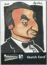 Thunderbirds 50 Years Sketch Card by Bruce Gerlach of Parker