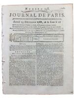 Berthollet en 1788 Chimie Pelletier Pharmacien Darcet Sage Journal de Paris