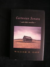 William Gass (The Tunnel) SIGNED 1st edition CARTESIAN SONATA AND OTHER NOVELLAS
