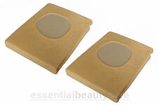 2 x CREAM massage table couch cover WITH face hole in CREAM