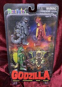 Minimates Godzilla Series 1 Boxset - 2014 - OOP - New - Rare