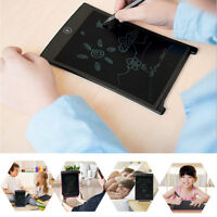 "8.5/12""LCD Handwriting Board With Pen Electronic Writing Pad Drawing Tablet New"