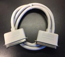 Premium C50 SCSI Cable 6ft M/M Centronics 50-Pin Apple Macintosh NEW Male Gray