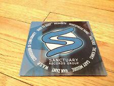 SANCTUARY RARE PROMO CD Megadeth KINKS Halford GARY MOORE Van Zandt WASP COC '01
