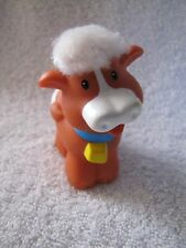 Fisher Price Little People TOUCH & FEEL SOFT COW FARM NATIVITY BARNYARD Fuzzy