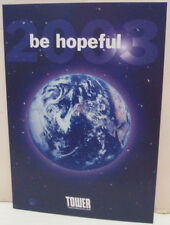 Tower Records Videos Books Store 2003 Be Hopeful Earth Promo Postcard
