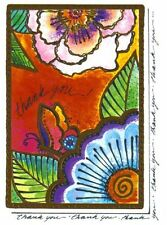 Laurel Burch Thank You Cards 6 Pack NEW Design