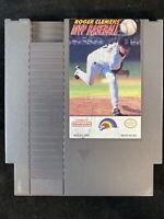 Roger Clemens' MVP Baseball - Nintendo NES Game