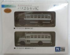 1/150 N scale TOMYTEC Japan Police Bus X 2