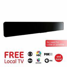 GE Pro Indoor 50 Miles HD Bar TV Antenna, Amplified, VHF/UHF HDTV