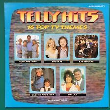 TELLY HITS LP TV Soundtracks Cagney Lacey Edge Of Darkness Tripods Marple Dallas