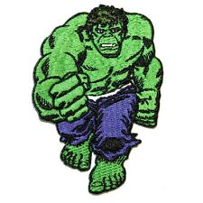 The Incredible Hulk Superhero Marvel Avengers Movie Hero Iron On Applique Patch