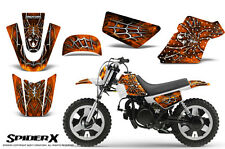 YAMAHA PW50 CREATORX GRAPHICS KIT DECALS SPIDERX ORANGE