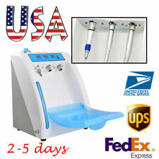 Dental Handpiece Lubrication System Lubricant Clean Refueling Oil Machine 4 Hole