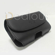 For Samsung Galaxy S6 Leather Pouch Case Belt Clip Fit w/Morphie Juice Pack