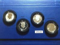 50th Anniversary Kennedy 2014 P D S W Half Dollar 90% Silver 4 Coin Set K13