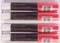 COVERGIRL LIP PERFECTION JUMBO GLOSS BALM 217 FROSTED CHERRY Twist~4 New Sealed