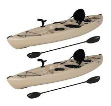 Lifetime 10' Tamarack Angler Kayak, Sit On Top Fishing - (2 Pack)