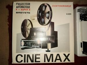 Super 8 projector