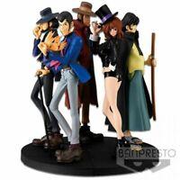 Banpresto Lupin The Third Part 5 Lupin Jigen Goemon Fujiko Zenigata Complete Set