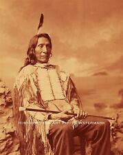 SIOUX INDIAN CHIEF RED CLOUD VINTAGE PHOTO NATIVE AMERICAN 1880 8x10 #20658