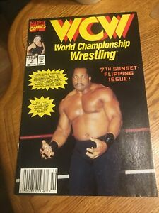 MARVEL COMICS: WCW WRESTLING #7. RON SIMMONS. PM2