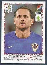 PANINI EURO 2012- #376-HRVATSKA-CROATIA-DINAMO ZAGREB-JOSIP SIMUNIC