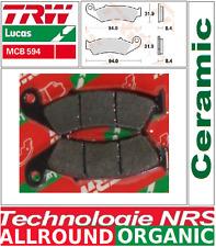 Jeu 2 Plaquettes frein Arrière TRW MCB594 organic Honda RVF 400 RR (NC35) 90-96