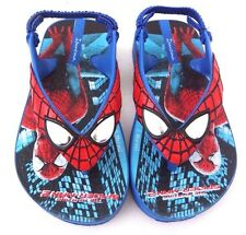 Rare Marvel The Amazing Spider-Man Boy's Toddler Character Slippers Size 6 NEW