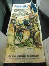 Charles Starrett Quick On The Trigger Original 3-Sheet Movie Poster #N1311
