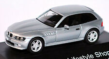 BMW Z3 2,8 Coupe E36 Lifestyle Shop 1998-2002 Silver Metallic 1:87 Herpa