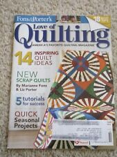 Fons & Porter's Love of Quilting Magazine OCT 2013
