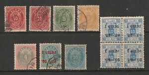 Iceland a small lot of M&U old ones