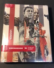 Looper [ Limited Mondo X STEELBOOK Edition ] (Blu-ray / DVD Combo) NEW
