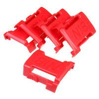 5x Red Battery Mounts Storage Holder Shelf Rack Stand Slot For MILWAUKEE M18 18V