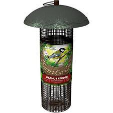 Peckish Peanut Bird Feeder, Secret Garden, Holds Up To 510g Peanuts, Leaf Design