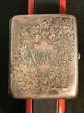 HALLMARKED BIRMINGHAM Silver Vesta Case by William Hair Haseler From 1907