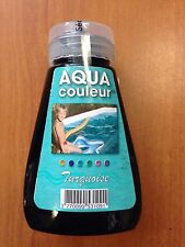 "COLORANT PISCINE OU SPA BLEU ""TURQUOISE"" AQUACOULEUR - FLACON 180 ML"